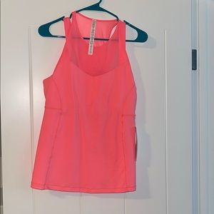 New Lululemon Running in the city tank. Size 10